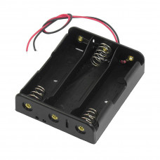 3 x 3.7V 18650 Lithium Polymer (Lipo) Battery Holder