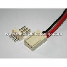 3 Pin Polarized Header Wire/Cable  - Relimate Connector