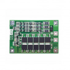 3 Series 40A 18650 Lithium Battery Protection Board 11.1V 12.6V with Balance for Drill Motor Lipo Cell Module