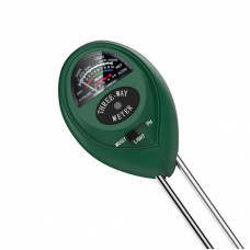 3 Way Soil Meter For Moisture, Light Intensity and pH Testing Meter