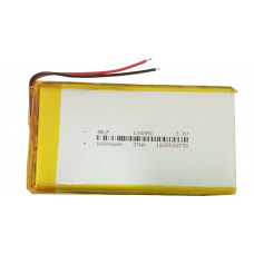 3.7V 10000mAH (Lithium Polymer) Lipo Rechargeable Battery Model JBLP-1260B0