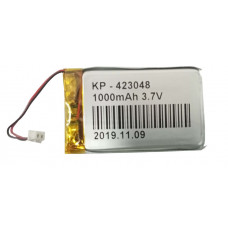 3.7V 1000mAH (Lithium Polymer) Lipo Rechargeable Battery Model KP-423048