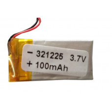 3.7V 100mAH (Lithium Polymer) Lipo Rechargeable Battery Model EC-321225