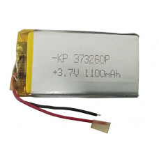 3.7V 1100mAH (Lithium Polymer) Lipo Rechargeable Battery Model KP-373260