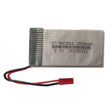 3.7V 1500mAH (Lithium Polymer) Lipo Rechargeable Battery for RC Drone