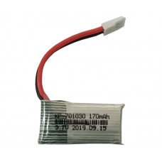 3.7V 170mAH (Lithium Polymer) Lipo Rechargeable Battery for RC Drone