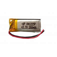 3.7V 200mAH (Lithium Polymer) Lipo Rechargeable Battery Model KP-041225