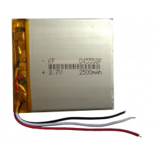 3.7V 2500mAH (Lithium Polymer) Lipo Rechargeable Battery Model KP-045558