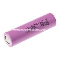 3.7V 2600mAH Lithium Polymer (Li-Po) Battery - 18650 Model - Samsung