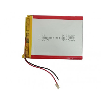 3.7V 3500mAH (Lithium Polymer) Lipo Rechargeable Battery Model KP-046585