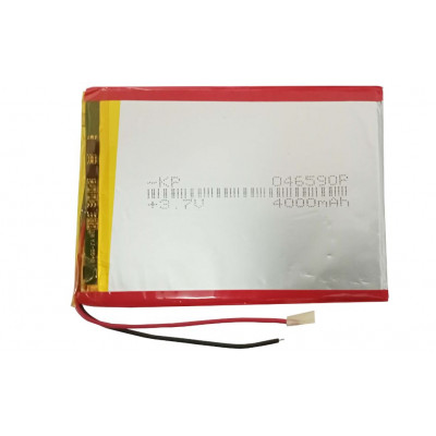 3.7V 4000mAH (Lithium Polymer) Lipo Rechargeable Battery Model KP-046590