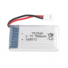 3.7V 500mAH (Lithium Polymer) Lipo Rechargeable Battery for RC Drone