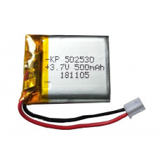 3.7V 500mAH (Lithium Polymer) Lipo Rechargeable Battery Model KP-502530