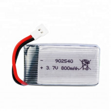 3.7V 800mAH (Lithium Polymer) Lipo Rechargeable Battery for RC Drone