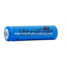 3.7V  1500mAH Lithium Polymer (Li-Po) Ordinary Battery - 18650 Model - Ultrafire
