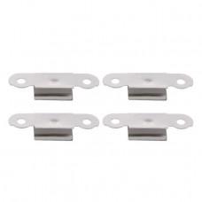 3D Printer Build Platform Glass Retainer Heated Bed Clip - 4 Piece Pack