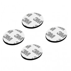3M 20mm Dia Multipurpose Double Sided Sponge Glue Adhesive Dash pad for GPS - 4 Pieces Pack