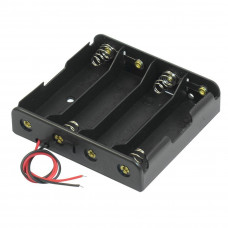 4 x 3.7V 18650 Lithium Polymer (Lipo) Battery Holder