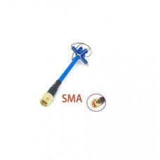 4 Leaf Clover RHCP RP-SMA Male Antenna