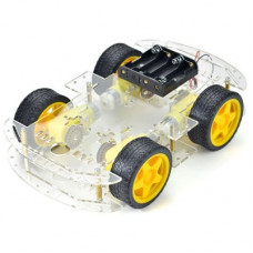 4 Wheel Smart Car Robot Chassis Kit