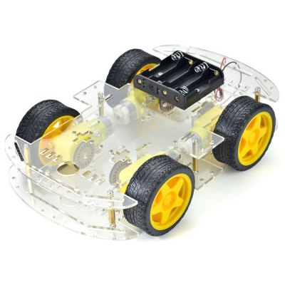 4 Wheel Smart Car Robot Chassis Kit