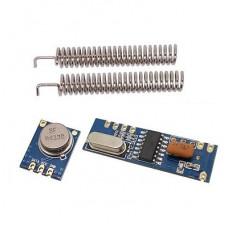433MHz 100 Meters STX882 ASK Transmitter Module + SRX882 Superheterodyne Receiver Module + Antenna