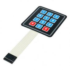 4x3 Matrix Membrane Type Keypad -12 Keys