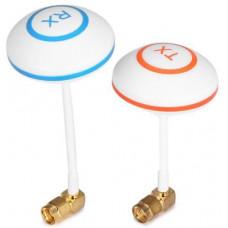 5.8G 3dBi FPV TX RX Antenna Pair (SMA-Male Plug)