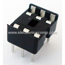 6 Pin IC Base (DIP) - 2 Pieces Pack