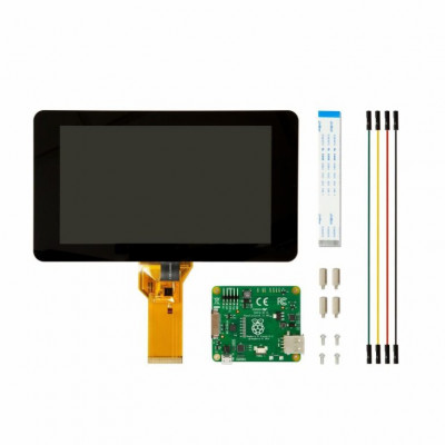 7 Inch Official Raspberry Pi Display with Capacitive Touchscreen