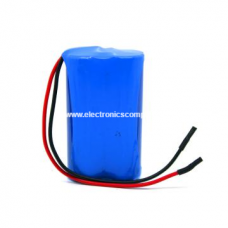 7.4V 2600mAH Lithium Polymer (Li-Po) Battery - 18650 Model
