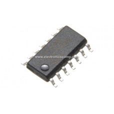 7414 IC - Hex Schmitt Trigger IC - SMD Package