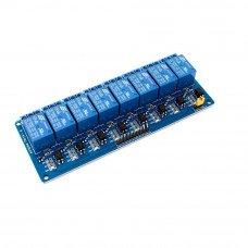 8 Channel 24V Relay Module with Optocoupler
