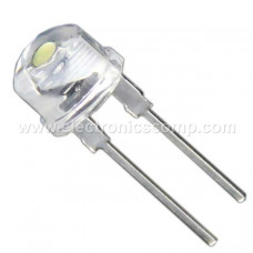 Green LED - 8mm Clear - 5 Pieces Pack