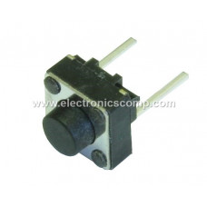 Push Button Switch 2 Pin - 5mm - 2 Pieces Pack