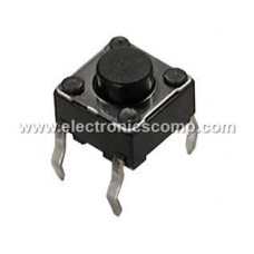 Push Button Switch 4 Pin - 5mm - 2 Pieces Pack