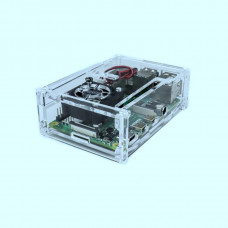 Raspberry PI 4 Acrylic Case with Cooling Fan Slot