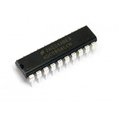 ADC0804 8-Bit Analog to Digital A/D Converter IC DIP-20 Package