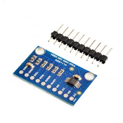 ADS1115 16-Bit I2C ADC 4-Channel Programmable Gain Amplifier Module