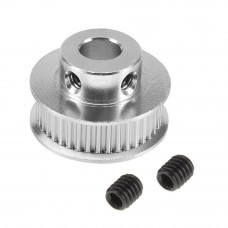 Aluminum GT2 Timing Pulley 40 Tooth 8mm Bore For 6mm Belt