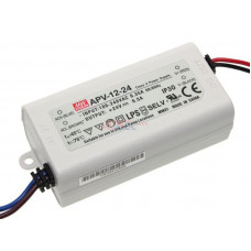 APV-12-24 Mean Well SMPS - 24V 0.5A 12W LED Power Supply