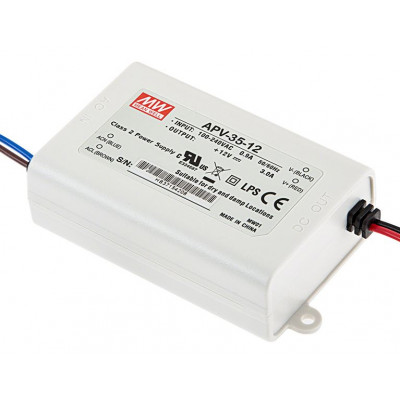APV-35-12 Mean Well SMPS - 12V 3A 36W LED Power Supply