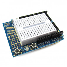 Arduino UNO Prototype Shield with mini Breadboard