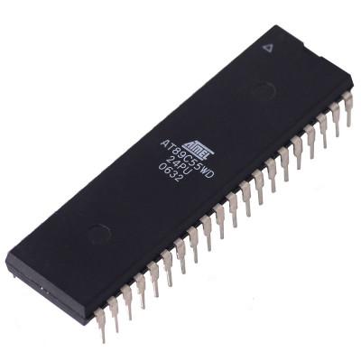 AT89C55 Microcontroller - 24MHz - 8 Bit - 40 Pin