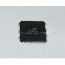 ATMEGA128A - AU Microcontroller  - (SMD TQFP Package) - 8-Bit 64 Pin 128K Flash Microcontroller