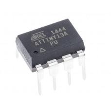 ATtiny13A Microcontroller - 8-bit DIP-8 AVR Microcontroller