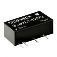 B0505LS-1WR3 Mornsun 5V to 5V DC-DC Converter 1W Power Supply Module - SIP Package