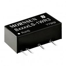 B0505LS-1WR3 Mornsun 5V to 5V DC-DC Converter 1W Power Supply Module - SIP Package