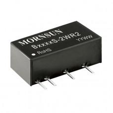 B0505S-2WR2 Mornsun 5V to 5V DC-DC Converter 2W Power Supply Module - Miniature SIP Package
