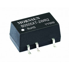 B0505XT-2WR2 Mornsun 5V to 5V DC-DC Converter 2W Power Supply Module - Compact SMD Package